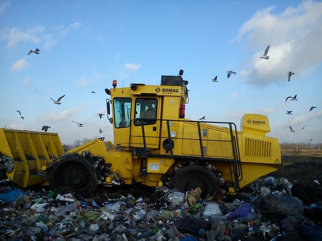 Zdjęcie Składowiska Odpadów Komunalnych Sp. z o.o. w Oświęcimiu